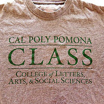 Cal Poly Pomona University College M Medium Gray T Shirt Photo