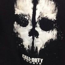 Call of Duty T-Shirt Black Ps-4 Xbox One 360 Game Sweater Kids Xxl Ghost Photo