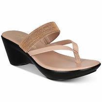 Callisto Womens Elora Open Toe Beach Platform Sandals Blush Size 8.5 Zxl7 Photo