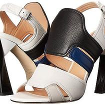 Calvin Klein Collection Eu 40 Us10 M Verushka Leather Heels New Womens Shoes Photo