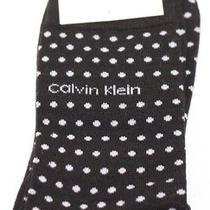 Calvin Klein Cotton Rich Socks Black/white Dots Uk 6.5-11 Eur 40-46  Vr27 020 Photo