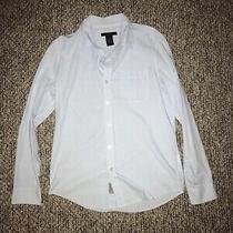 Calvin Klein Dress Shirt Mens h&m Express Button Down Shirt  Photo