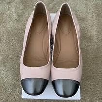 Calvin Klein Fiana Sheep Nappa Flats Blush Size 8 Photo