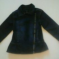Calvin Klein Jeans Girls Blue Denim Jacket Size 5 Photo