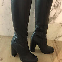 Calvin Klein Jeans New Black Womens Tall Size 9 Boots 50 Photo