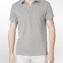 Calvin Klein Jeans Striped Polo Shirt Mens Photo