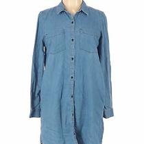 Calvin Klein Jeans Women Blue Casual Dress L Photo