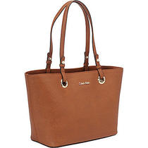 Calvin Klein Key Item Saffiano Tote - Luggage Photo