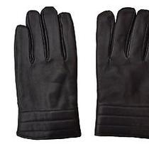 Calvin Klein Men's Basic Quilted Cuff Leather Glove With Touchscreen Technology  Photo
