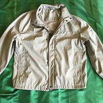 Calvin Klein Men's Beige Jacket  Water Resistant/wind Protection   Size Xl  Photo