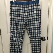 Calvin Klein Men's Blue Plaid Flannel Lounge Pants Small Pajama Sleep Pants Photo