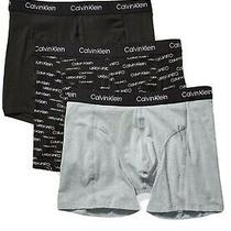 Calvin Klein Men's Elements 3 Pack Boxer Briefs a - Choose Sz/color Photo