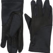 Calvin Klein Men's Pieced Logo Grip Tech Glove With Touchscreen Technology Char Photo