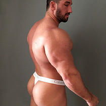 Calvin Klein Muscle Collection - Men's Thong Jockstrap Trunks Underwear - New Photo