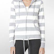 Calvin Klein Performance Rugby Stripe Hoodie Womens Photo