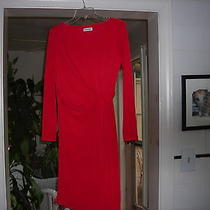 Calvin Klein Red Dress Size 8 Photo