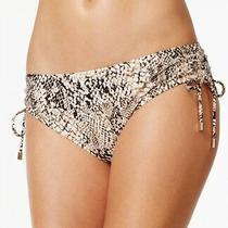 Calvin Klein Snake Print Side Tie Bikini Bottom Size Xl Photo