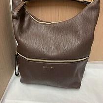 Calvin Klein Womems Hobo Handbag Brown Photo