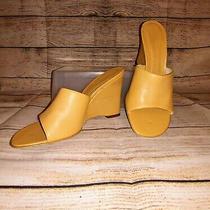 Calvin Klein Women's Open Toe Mule Wedge Heel Sandals/slides/slip Ons Size 8.5 Photo