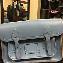 Cambridge Satchel Blue 13''in  Photo