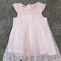 Camilla 0-3 Month Baby Girl Pretty Dress Light Pink Photo