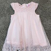 Camilla 0-3 Month Baby Girl Pretty Dress Light Pink Photo