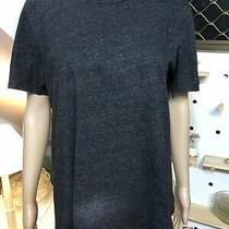 Camilla and Marc  c&m Classic Charcoal Grey Marle T-Shirt  Size 10  Photo