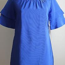 Camilla and Marc Dress 6 Us 10 Aus Mini Poppy Frock Cobalt Blue New Nwt 550 Photo