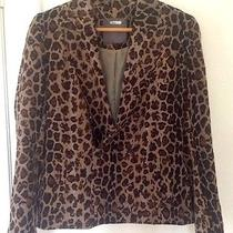 Camilla and Marc Light Weighted Silk Blazer Size 8 (Rrp 800) Photo