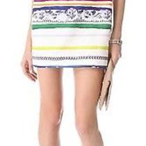 Camilla and Marc Linear Chain Stripes Dress White Sz Us 2 Msrp 540 Photo
