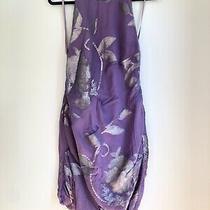 Camilla and Marc Purple Halter Dress Fits 6 8 S Photo