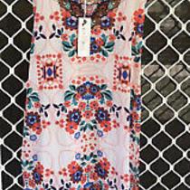Camilla Beach House Maxi Dress 4 Express Franks Size 1 10 Small Side Split Slit Photo