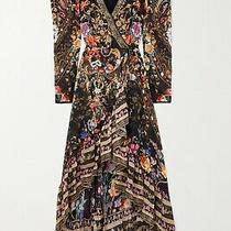 Camilla Blushing Manor Blouson Wrap Sleeve Dress Rrp 999 Photo