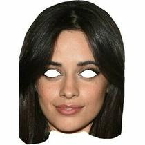Camilla Cabello Celebrity Masks Singer Fancy Dress Costume Party Mask Wholesale Photo