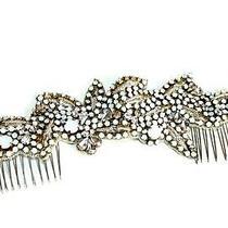Camilla Christine Women's  Crystal Boho Organic Rhinestone Hairclip Comb  Photo