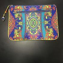 Camilla Cotton Zip Clutch Bag Photo