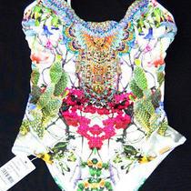 Camilla Crystalone Piece Exotic Hypnotic Swimsuit  Size 8 Photo