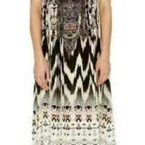 Camilla Drawstring Maxi Dress Call of the Wild  O/s Photo