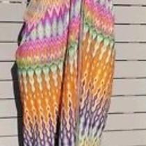 Camilla Dress Tie Front Pastal Crystal Multicolour Strap Open Beach Summer Small Photo