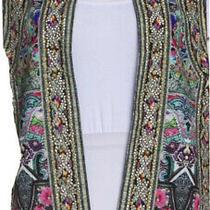 Camilla Embellished Embroidered Vest Photo