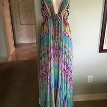 Camilla Frank's Nwt Dress One Size Fits Most Beautiful 100% Silk Photo