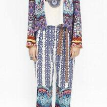 Camilla Franks Artesania Swarovski Embellished Pants Size 2 Medium 4 Express Photo