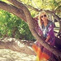 Camilla Franks Brand New Daze Lace Up Swarovski Kaftan Dress Photo