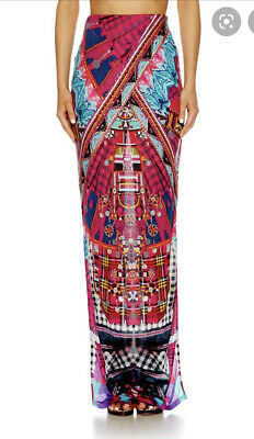 Camilla Franks Desert Discotheque Long Overlay Skirt Size XS Small $4 EXPRESS Photo