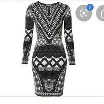 Camilla Franks Fez Says Long Sleeve Midi Knit Dress Size Xs Small 4 Express Photo