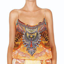 Camilla Franks Lion Heart Crystals Embellished Tank Top Shirt Photo
