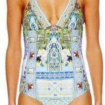 Camilla Franks My Marjorelle Reversible Tri Halter Onepiece Size  10 Aus / Small Photo