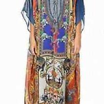 Camilla Franks Ring Leader Long Lace Up Silk Kaftan  Photo