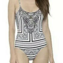 Camilla Franks Tribal Theory One Piece Swimsuit Size 8 Xs Small 4 Express Photo