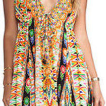 Camilla Franks v Neck Drawstring Maxi Dress Photo